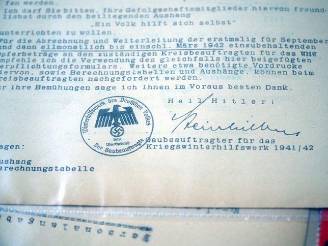Warszawa. Odzyskano dokumenty z II wojny światowej