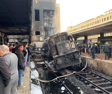 Egipt. Eksplozja na dworcu głównym w Kairze