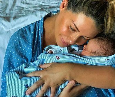 Małgorzata Rozenek-Majdan w szpitalu z synkiem