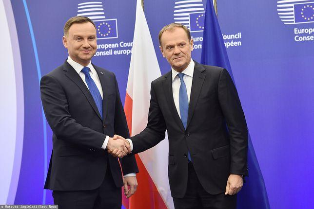 Sondaż: Donald Tusk powinien stanąć przeciw Andrzejowi Dudzie