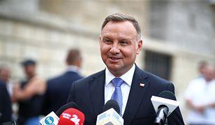 Prezydent Andrzej Duda o maseczkach