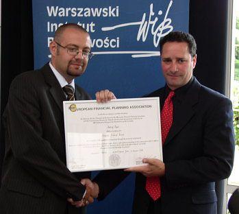 Mamy pierwszych doradców z certyfikatami €FPA