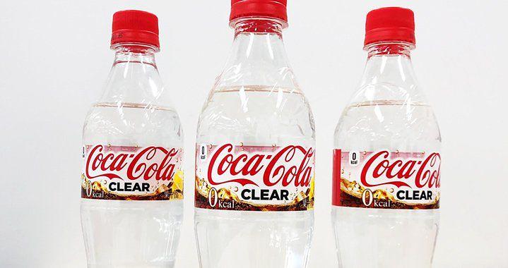 Nowy napój od Coca-Coli. Wygląda jak woda i nie ma kalorii