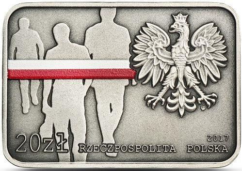 NBP wprowadził do obiegu prostokątną monetę o wartości 20 złotych