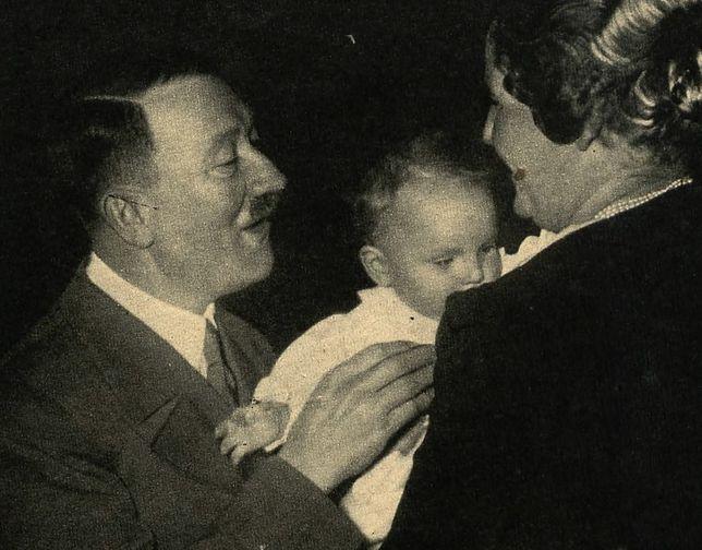 Hitler z małą Eddą Göring
