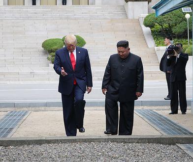 Donald Trump był pierwszym prezydentem, który postawił stopę na terytorium Korei Północnej