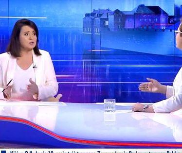 """Katarzyna Lubnauer przepytywana przez Danutę Holecką w """"Gościu Wiadomości"""""""