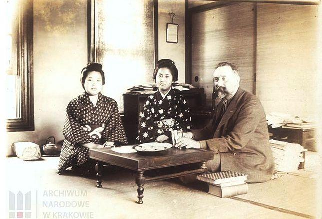 Bronisław Piłsudski podczas pobytu w Japonii