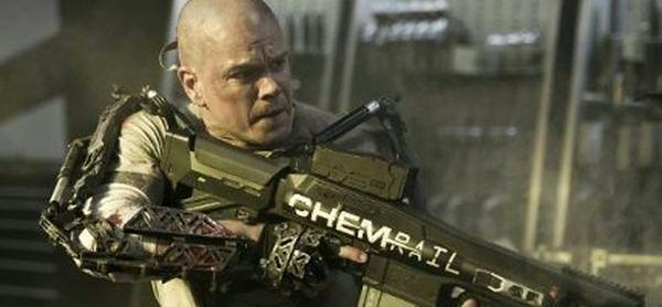 ''Elizjum'': Matt Damon chce na Elizjum [wideo]