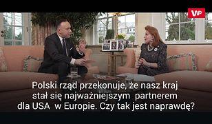 """""""Polska jednym z liderów NATO"""". Racja stanu z G. Mosbacher o 12:00 na WP.pl"""