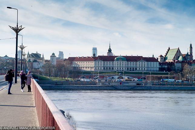 Smog Warszawa - dobra jakość powietrza w środę 27 lutego.