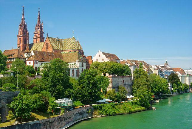 Bazylea - miasto na pograniczu Szwajcarii, Niemiec i Francji