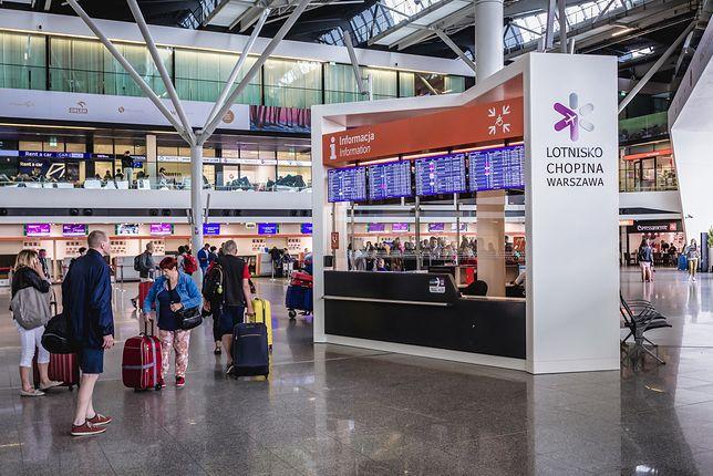 Lotnisko w Warszawie (zdjęcie poglądowe)