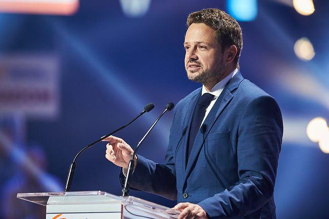 Rafał Trzaskowski bezkonkurencyjnym liderem sondy WP.