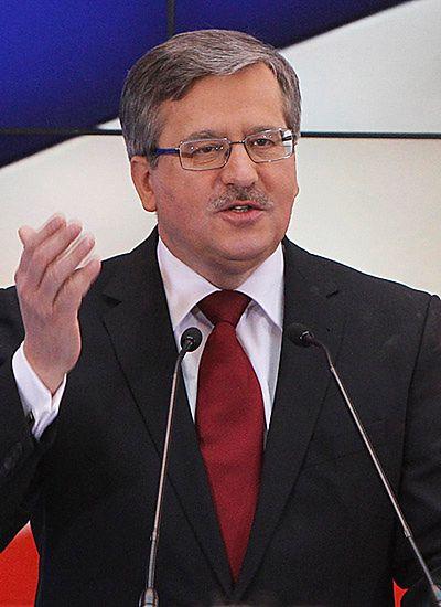 Prezydent Komorowski uhonorował dziennikarzy
