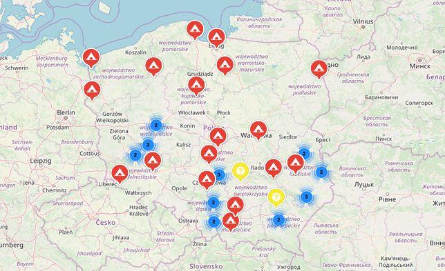 Darmowych miejsc noclegowych przybywa na mapie każdego dnia