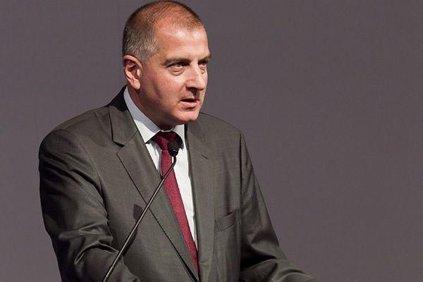 Prezydent Wrocławia Rafał Dutkiewicz w kwietniu 2012 r.