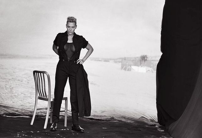 """Kate Winslet w męskich stylizacjach dla """"L'Uomo Vogue"""""""