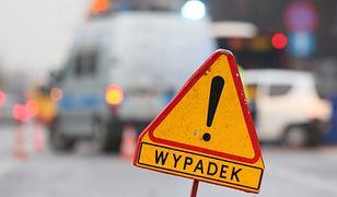 Włynkówko. Wypadek na DK21. Dziewięć osób w szpitalu