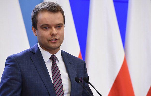 Rzecznik rządu Rafał Bochenek