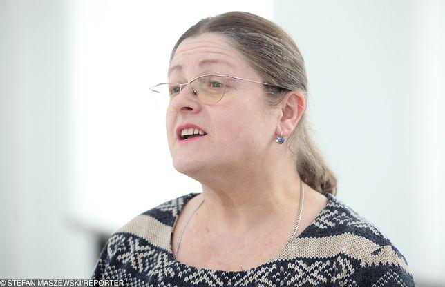 Krystyna Pawłowicz nie przejęła się słowami Grzegorz Schetyny