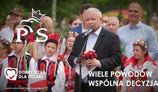 Wybory. Prezes PiS Jarosław Kaczyński w najnowszym spocie kampanijnym.