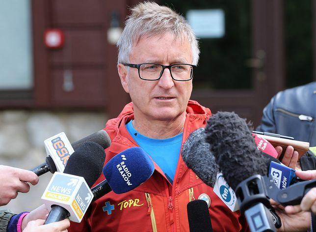 Jan Krzysztof z TOPR przyznał, że ratownicy będą szukać ludzi w Tatrach