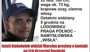 Zaginął 22-letni Marcin Rosiński