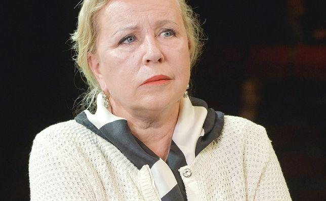 Krystyna Janda bez wsparcia ministerstwa