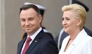Andrzej Duda i pierwsza dama mają wiele wspólnych zdjęć. To jest jednak wyjątkowe
