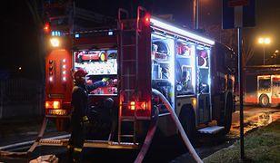 Pożar wybuchł około godz. 22