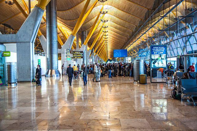 Lotnisko Madryt-Barajas obługuje rocznie 29 milionów pasażerów