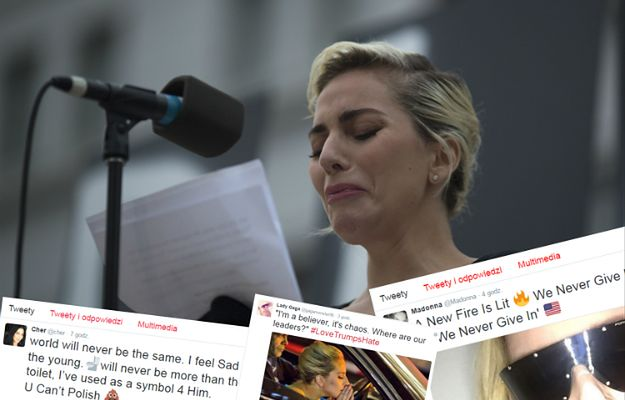Amerykańskie gwiazdy załamane wygraną Trumpa. Cher: wciąż pozostanie małostkowym, mściwym tchórzem