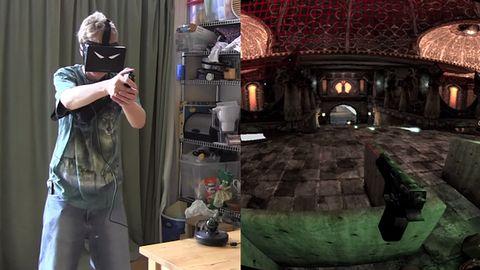 Oculus Rift + Razer Hydra = bardzo realistyczna strzelanka