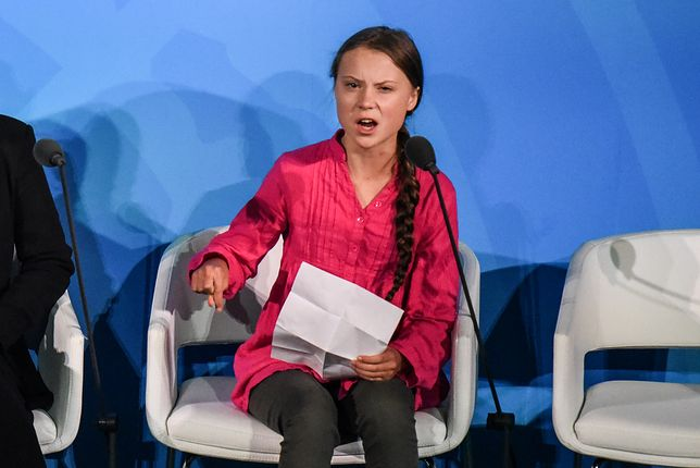 Greta Thunberg zasłynęła z organizacji jednoosobowego strajku klimatycznego w zeszłym roku.
