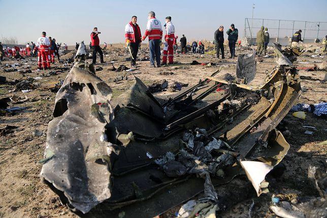 Iran. Katastrofa samolotu w Teheranie. Czy to był wybuch silnika?