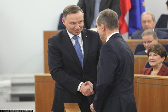 Andrzej Duda spotka się z marszałkiem Senatu Tomaszem Grodzkim. Wyznaczono już termin