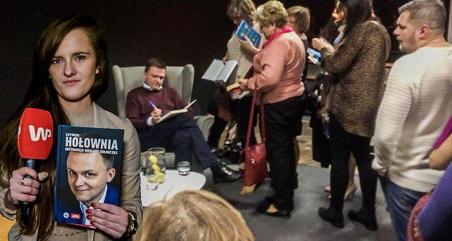 Na spotkaniu z Szymonem Hołownią w Radomiu jego książki nie były tematem numer jeden