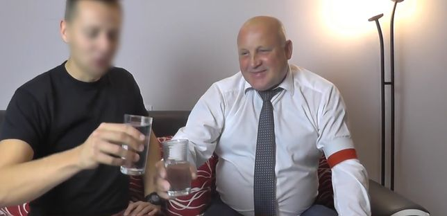 Jacek M. i Piotr Rybak na YouTubie świętują wspólnie zapowiedź wycofania aktu oskarżenia wobec pierwszego z mężczyzn