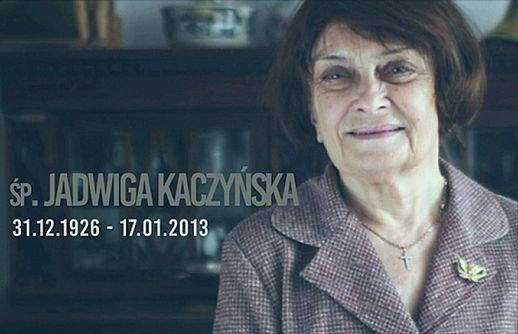 Jadwiga Kaczyńska zmarła 17 stycznia 2013 roku