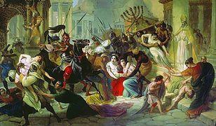 Zdobycie Rzymu przez Wandalów, obraz Karła Briułłowa