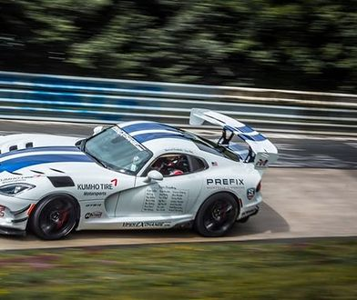Nowy król Nurburgringu? Dodge Viper ACR szybszy od poprzednika, ale marzenie o rekordzie jeszcze niespełnione