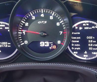 Porsche Panamera GTS 4.0 V8 460 KM (AT) - pomiar zużycia paliwa