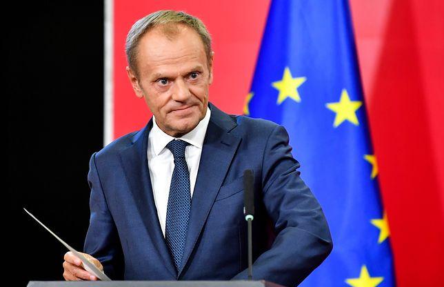 Donald Tusk złożył również wizytę w Albanii