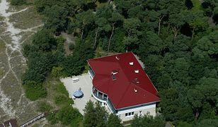 Rezydencja prezydencka na półwyspie helskim.