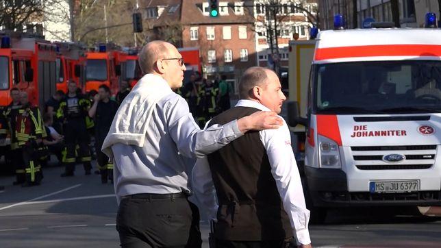 W niemieckim miasteczku Muenster kierowca wjechał w kawiarniany ogródek. Zabił 3 osoby, po czym popełnił samobójstwo.