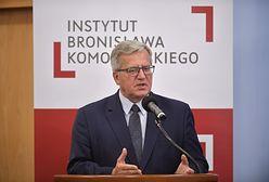 Antoni Macierewicz marszałkiem seniorem Sejmu. Bronisław Komorowski: to brzmi jak ponury żart