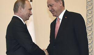 Władimir Putin i Recep Tayyip Erdoğan