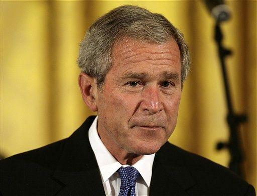 Bush oskarża Rosję o zastraszanie Gruzji