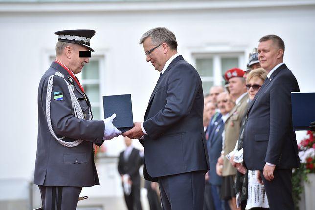 B. dowódca sił zbrojnych Lech M. zatrzymany przez Żandarmerię Wojskową